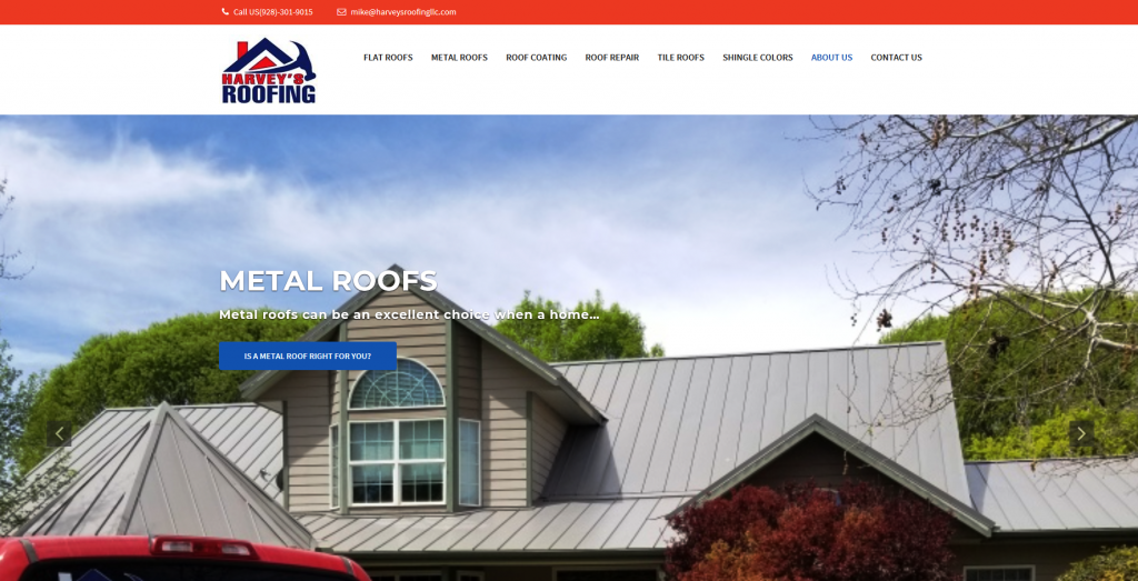 our customers harveys roofing llc